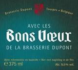 Dupont Avec Les Bons Voeux beer
