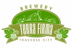 Terra Firma Lizard King IPA Noir beer Label Full Size
