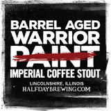 2019 Half Day Barrel Aged Warrior Paint beer