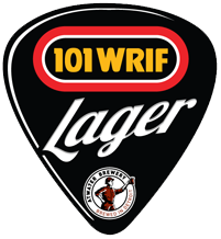 Atwater WRIF Lager beer Label Full Size