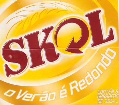 Skol beer Label Full Size