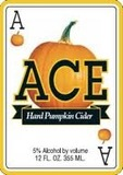 Ace Hard Pumpkin Cider beer