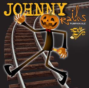 Erie Johnny Rails Pumpkin Ale beer Label Full Size
