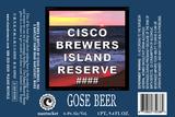 Cisco Island Reserve Gose beer