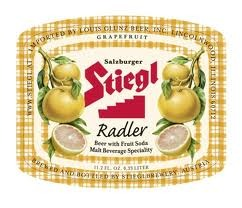Stiegl Radler beer Label Full Size