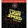 Toppling Goliath Double Dry Hop  Light Speed beer