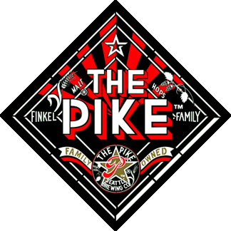 Pike Space Needle beer Label Full Size
