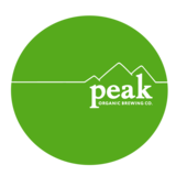 Peak Organic Fresh Cut Pilsner beer