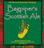Pennichuck Bagpiper's Scotish Ale beer
