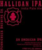 Pennichuck Halligan IPA beer