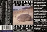 Leelanau Petoskey Pale Ale beer