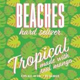 Beaches Tropical Hard Seltzer beer