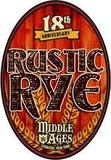 Middle Ages Rustic Rye beer
