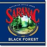 Saranac Black Forest beer