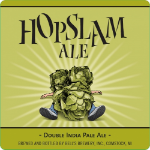 Bell's Hopslam beer Label Full Size