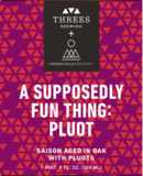 Threes / Hudson Valley A Supposedly Fun Thing (Pluot) beer