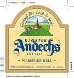 Andechser Weissbier Hell beer