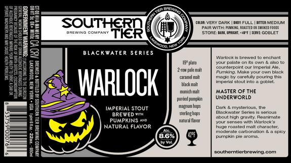 Southern Tier Warlock Beer