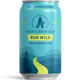 Athletic Run Wild NA IPA beer