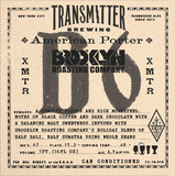 Transmitter B6 American Porter With Coffee beer