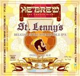He'brew St. Lenny's Belgian Rye IPA beer