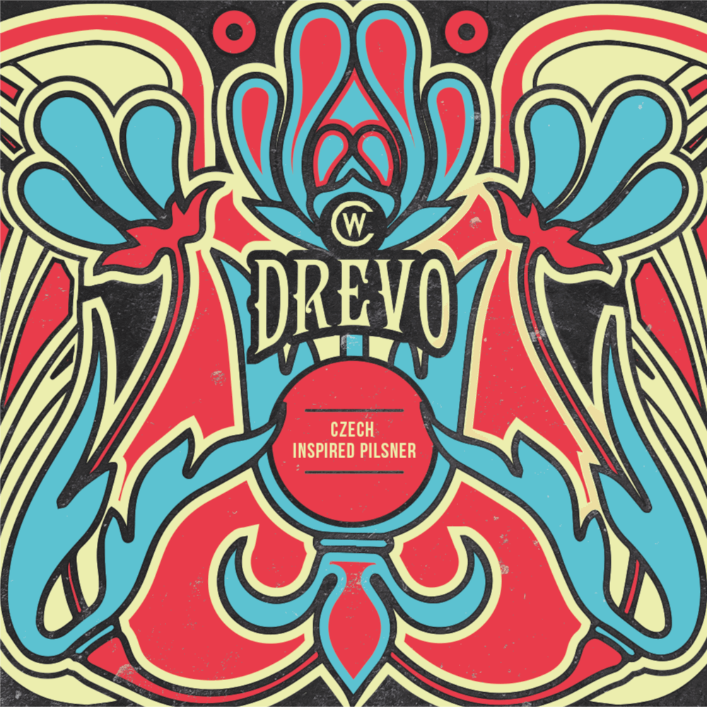 Counter Weight Drevo beer Label Full Size