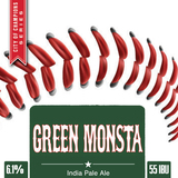 Wachusett Green Monsta IPA beer