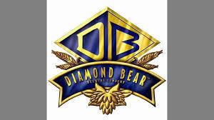 Diamond Bear Strawberry Blonde beer Label Full Size