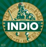 Indio Dark Lager beer