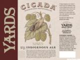 Yards Cicada beer