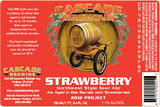 Cascade Strawberry beer