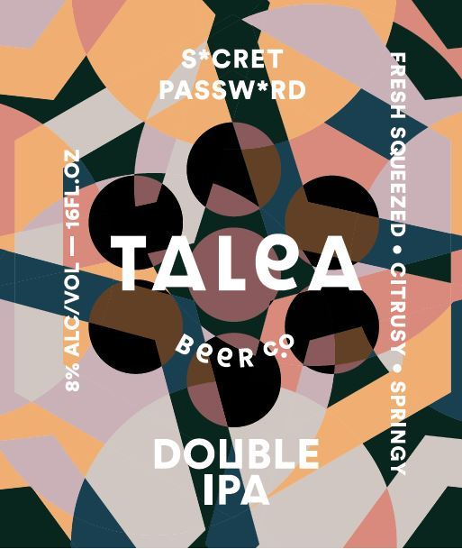 TALEA Secret Password beer Label Full Size