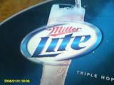 Miller Lite Aluminum beer