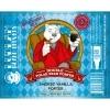 Ludlam Island Whiskey Barrel Doublel Polar Bear Porter beer Label Full Size