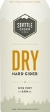 Seattle Cider Dry Cider Beer