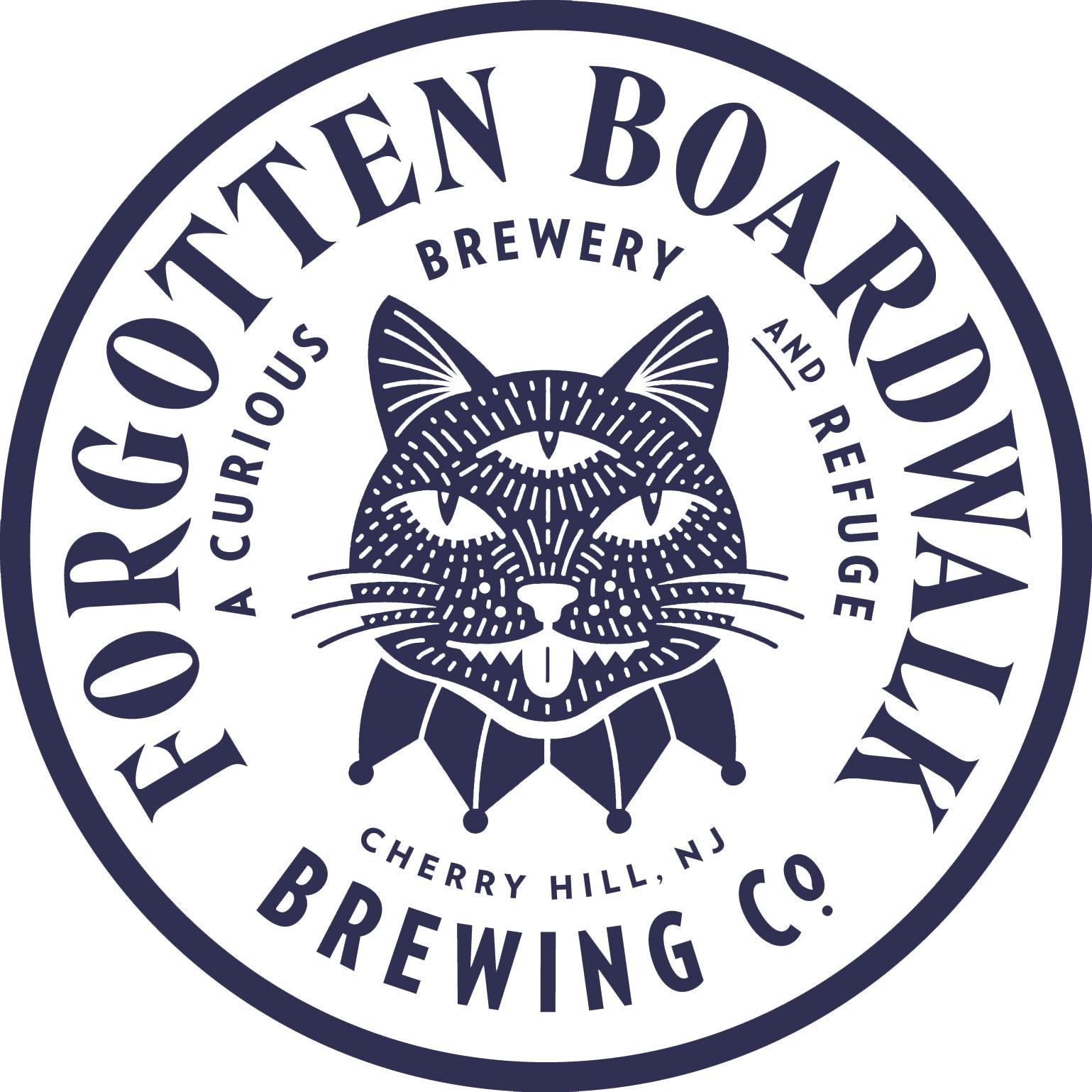 Forgotten Boardwalk's The Strongest Woman On Earth beer Label Full Size