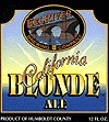 Eel River California Blonde Ale Beer