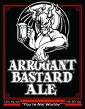 Stone  Arrogant  Bastard Beer
