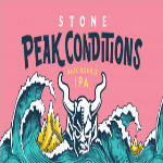 Stone Peak Conditions beer Label Full Size