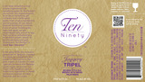 Ten Ninety Jaggery Tripel Beer