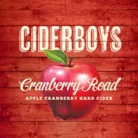 Ciderboys Cranberry Road beer Label Full Size