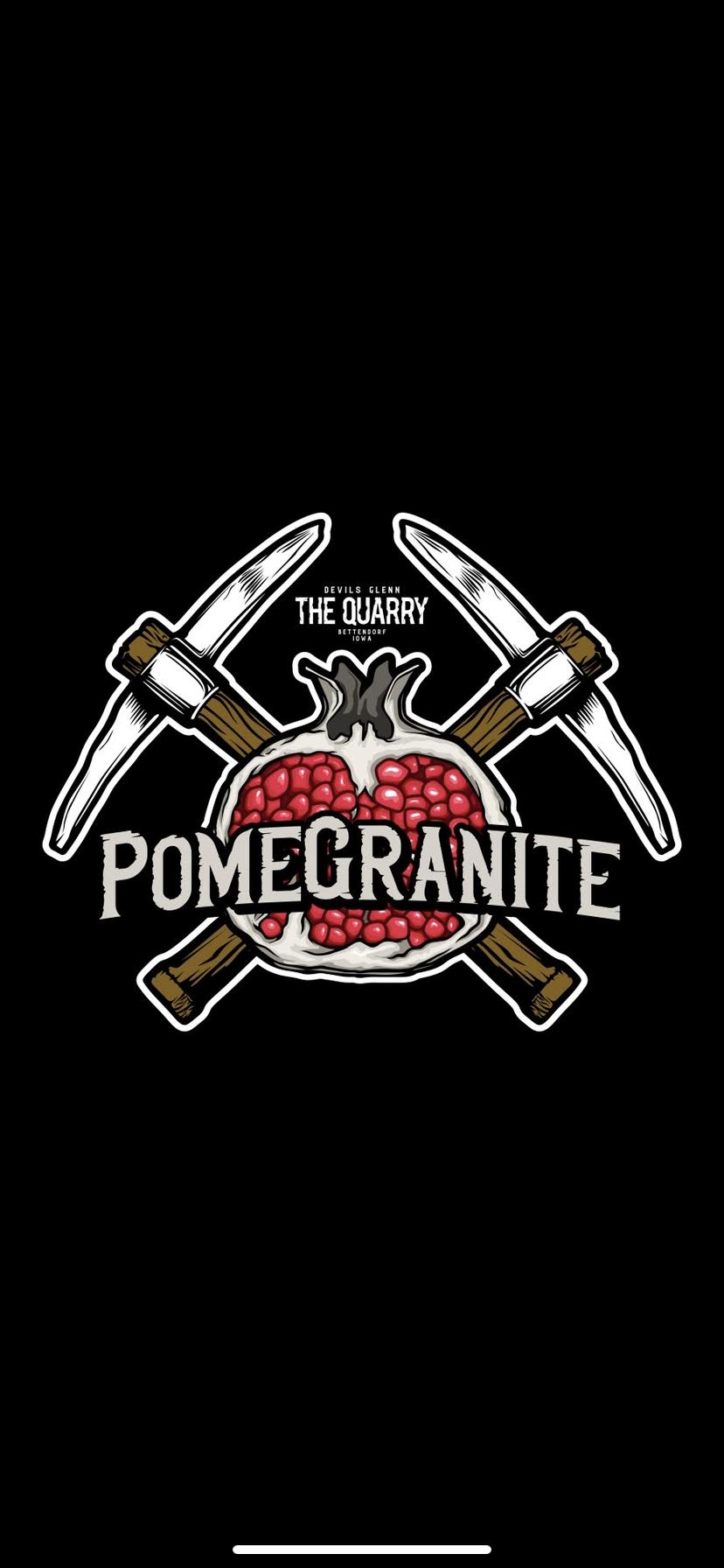Quarry Pomegranite beer Label Full Size