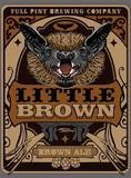 Full Pint Little Brown Ale Nitro beer