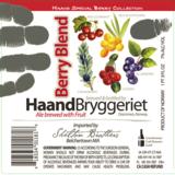 Haandbryggeriet Berry Blend beer
