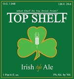 Top Shelf Irish Style Ale beer