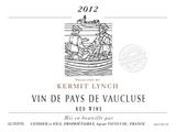 Kermit Lynch Vin De Pays du Vaucluse wine