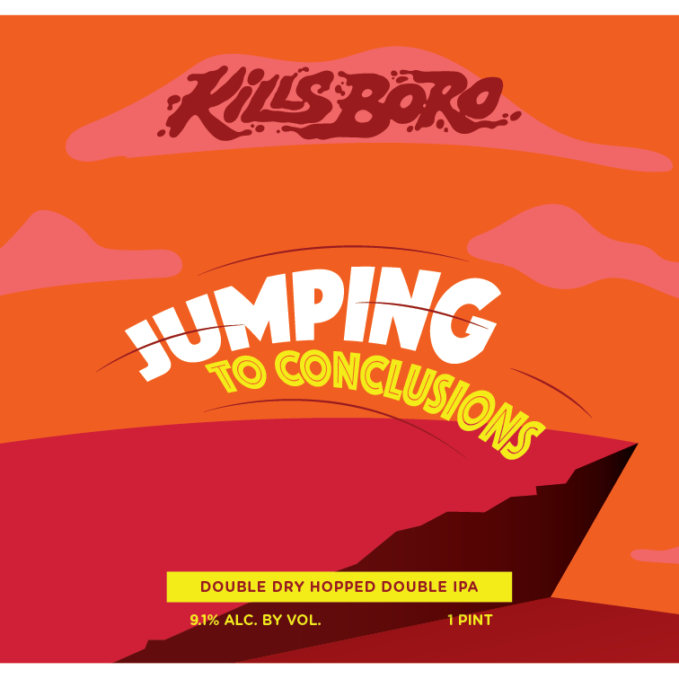 Kills Boro - Jumping to Conclusions beer Label Full Size