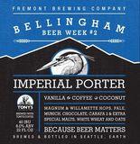 Fremont Bellingham Beer Week #2 Imperial Porter beer