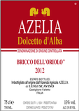 Azelia Dolcetto D'alba Bricco Dell'orio wine