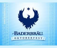 Baderbrau Oktoberfest beer Label Full Size